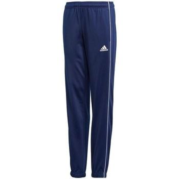 Textil Děti Kalhoty adidas Originals CORE18 Pes Pnt Y Tmavomodré