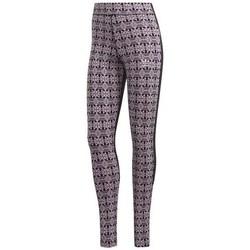 Textil Ženy Kalhoty adidas Originals Aop Tights Hnědé