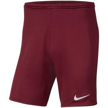 Textil Chlapecké Tříčtvrteční kalhoty Nike Dry Park Iii NB K Vínově červené