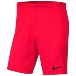 Textil Chlapecké Kraťasy / Bermudy Nike JR Park Iii Knit Červené
