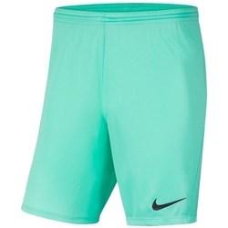 Textil Chlapecké Kraťasy / Bermudy Nike JR Park Iii Knit Zelené