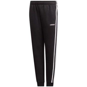 Textil Děti Teplákové kalhoty adidas Originals JR Essentials 3S Černé