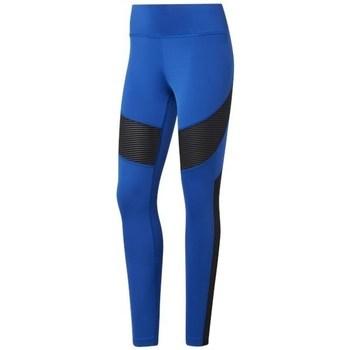 Textil Ženy Legíny Reebok Sport Wor Mesh Tight Černé, Modré