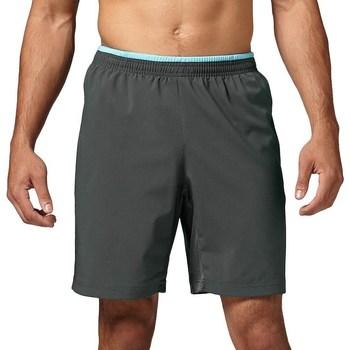 Textil Muži Tříčtvrteční kalhoty Reebok Sport Running Essentials 8 Grafitové