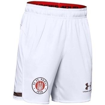 Textil Chlapecké Kraťasy / Bermudy Under Armour JR FC ST Pauli Replica Bílé