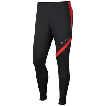 Textil Chlapecké Teplákové kalhoty Nike JR Academy Pro Černé, Červené