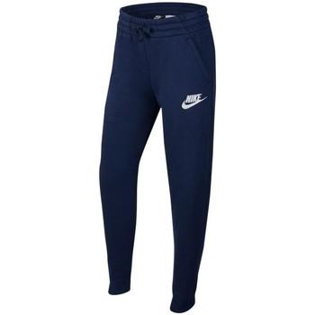 Textil Chlapecké Teplákové kalhoty Nike Sportswear Modré