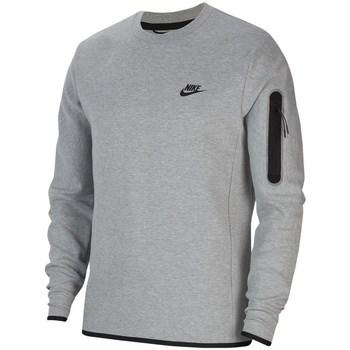 Textil Muži Mikiny Nike Sportswear Tech Fleece Šedé