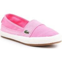 Boty Ženy Espadrilky  Lacoste Marice 7-35CAW004213C pink