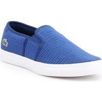 Boty Ženy Street boty Lacoste Gazon 7-33CAW1074125 blue
