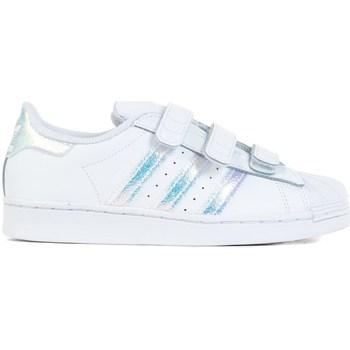 Boty Děti Nízké tenisky adidas Originals Superstar CF C Bílé