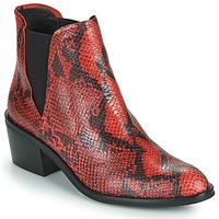 Boty Ženy Kotníkové boty Fericelli NIAOW Černá / Červená