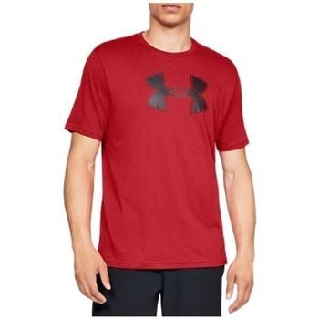 Textil Muži Trička s krátkým rukávem Under Armour Big Logo SS Tee Červené