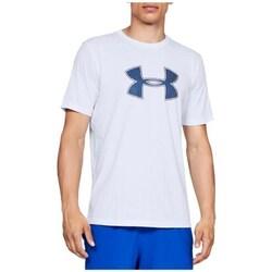 Textil Muži Trička s krátkým rukávem Under Armour Big Logo SS Tee Bílé