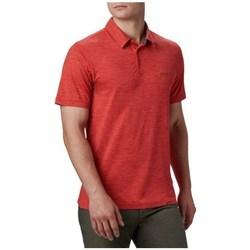 Textil Muži Polo s krátkými rukávy Columbia Tech Trail Polo Shirt Červené