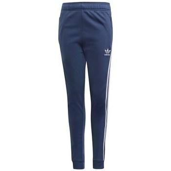 Textil Děti Teplákové kalhoty adidas Originals Sst Pants Tmavomodré