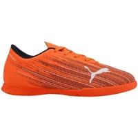 Boty Děti Fotbal Puma JR Ultra 41 IT Oranžové