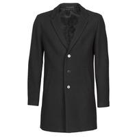 Textil Muži Kabáty Jack & Jones JJEMOULDER Černá