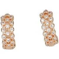 Hodinky & Bižuterie Ženy Náušnice Luna Collection 50051 Zlatá