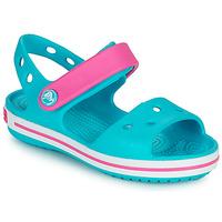 Boty Dívčí Sandály Crocs CROCBAND SANDAL Modrá