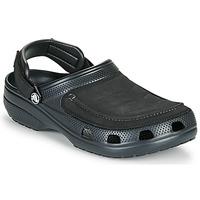 Boty Muži Pantofle Crocs YUKON VISTA II CLOG M Černá