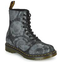 Boty Ženy Kotníkové boty Dr Martens 1460 PASCAL Černá / Šedá