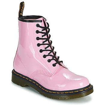 Boty Ženy Kotníkové boty Dr Martens 1460 W Růžová