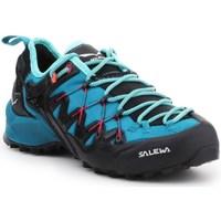 Boty Ženy Běžecké / Krosové boty Salewa WS Wildfire Edge Grafitové,Modré