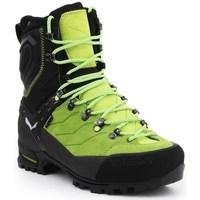 Boty Muži Kotníkové boty Salewa MS Vultur Evo Gtx Černé, Bledě zelené