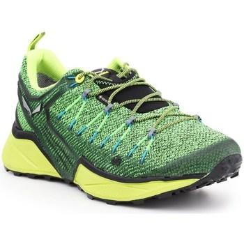 Boty Muži Nízké tenisky Salewa MS Dropline Gtx Bledě zelené,Zelené