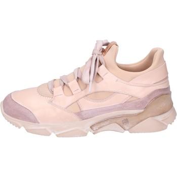 Boty Ženy Kotníkové tenisky Moma BK453 Růžový