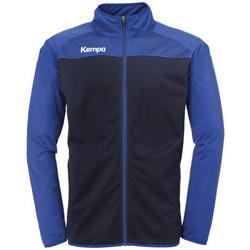 Textil Chlapecké Teplákové bundy Kempa Veste  Prime Poly bleu marine/bleu royal