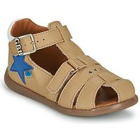 Boty Chlapecké Sandály GBB GARDOU Béžová