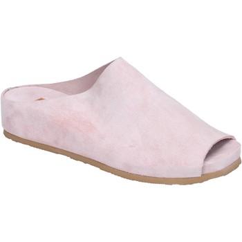 Boty Ženy Dřeváky Moma BK480 Růžová