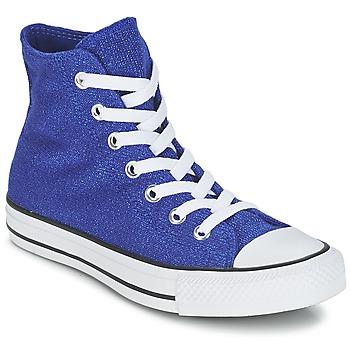 Boty Ženy Kotníkové tenisky Converse CHUCK TAYLOR ALL STAR KNIT Modrá
