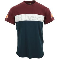 Textil Muži Trička s krátkým rukávem Ellesse Pogbino T-Shirt Modrá