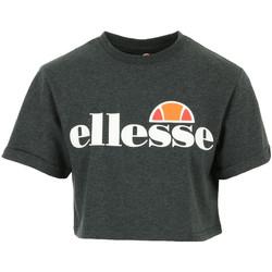 Textil Ženy Trička s krátkým rukávem Ellesse Alberta Crop T-Shirt Šedá