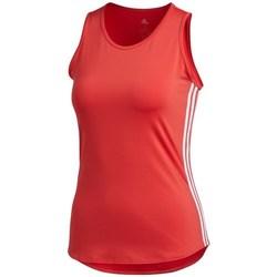 Textil Ženy Tílka / Trička bez rukávů  adidas Originals Wmns 3STRIPES Tank Top Červené