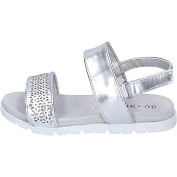 Boty Dívčí Sandály Sprox Sandály BK501 Stříbrný