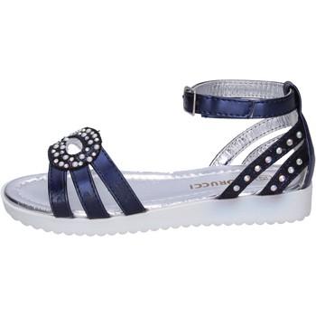Boty Dívčí Sandály Fiorucci Sandály BK505 Modrý
