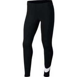 Textil Dívčí Kalhoty Nike Swoosh Černé