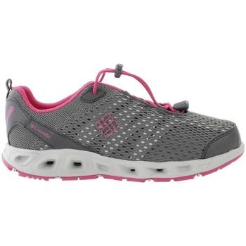 Boty Dívčí Běžecké / Krosové boty Columbia Youth Drainmaker Iii Šedé,Růžové