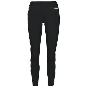 Textil Ženy Legíny adidas Originals W E 3S TIGHT Černá / Bílá