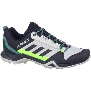 Boty Muži Pohorky adidas Originals Terrex AX3 Hiking Šedé, Bledě zelené, Grafitové