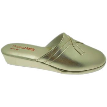 Boty Ženy Pantofle Milly MILLY2200oro blu