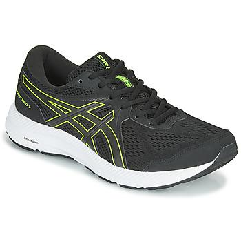 Boty Muži Běžecké / Krosové boty Asics CONTEND 7 Černá / Žlutá