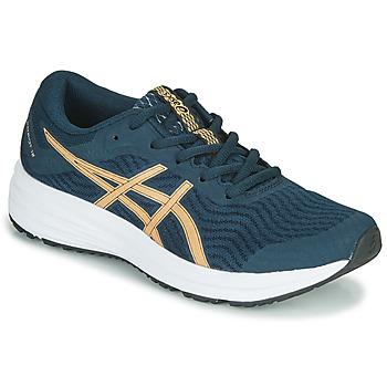 Boty Ženy Běžecké / Krosové boty Asics PATRIOT 12 Modrá / Oranžová