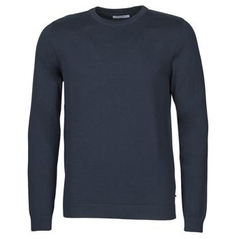 Textil Muži Svetry Jack & Jones JJEBASIC Tmavě modrá