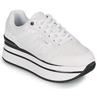 Boty Ženy Nízké tenisky Guess HANSIN Bílá