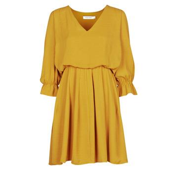 Textil Ženy Krátké šaty Naf Naf  Žlutá